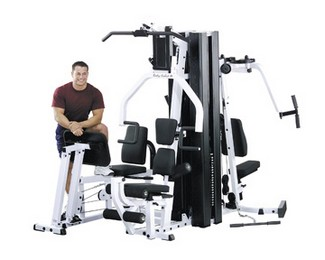 "X BODY SOLID EXM-3000LPS  Selectorized Home Gym ""FREE SHIPPING"""