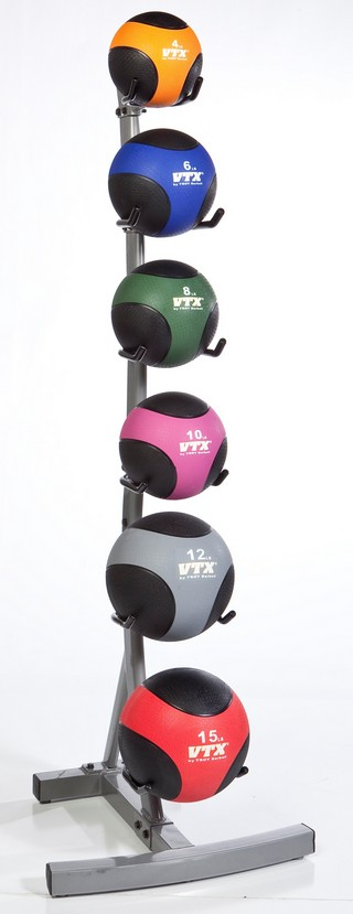 X Troy GMBR-6  6 Tier Medicine Ball Tower Rack