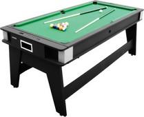 GO5613W Harvard 6' Double Fun 2 in 1 Flip Top Game Table