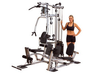 "X BODY SOLID P2X Powerline Home Gym w/leg ext ""FREE SHIPPING"""