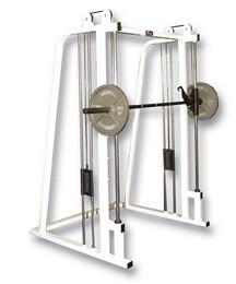 WILDER PL-022  Smith Machine w/Counter Balance