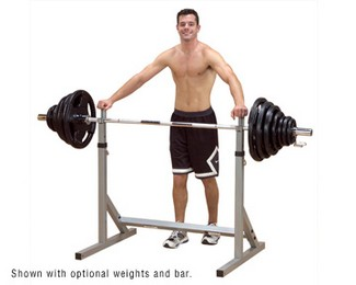 "Z BODY SOLID PSS60X  Squat Rack ""FREE SHIPPING"""