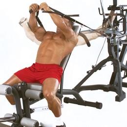 "X BODY SOLID SBL-460 Freeweight Leverage Gym ""FREE SHIPPING"""