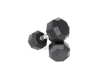 Troy SD-R Rubber Hex Dumbbells