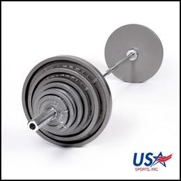 Troy Boss-300 USA Olympic Weight Set