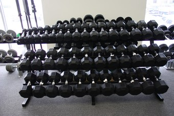 Troy TDR-3 Dumbbell Rack