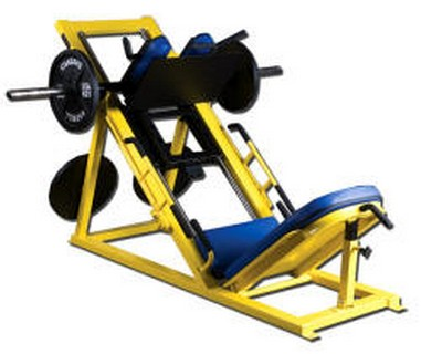 WILDER PL-014  Linear Leg Press/Hack Squat Combo