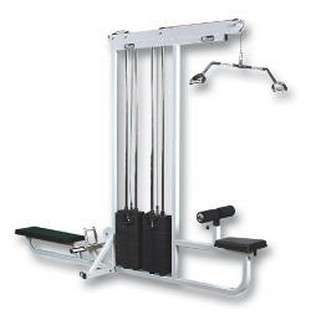 WILDER SEL-009 Double Stack Lat Pull Down / Low Row