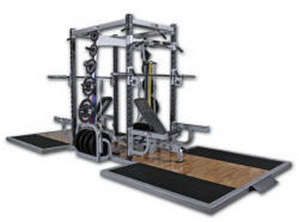 Wilder FW-027 Laser Double Rack W/Oak Platform