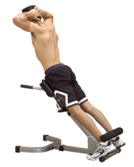 Z-Body Solid PHYP200X Powerline 45 Degree Back Hyperextension